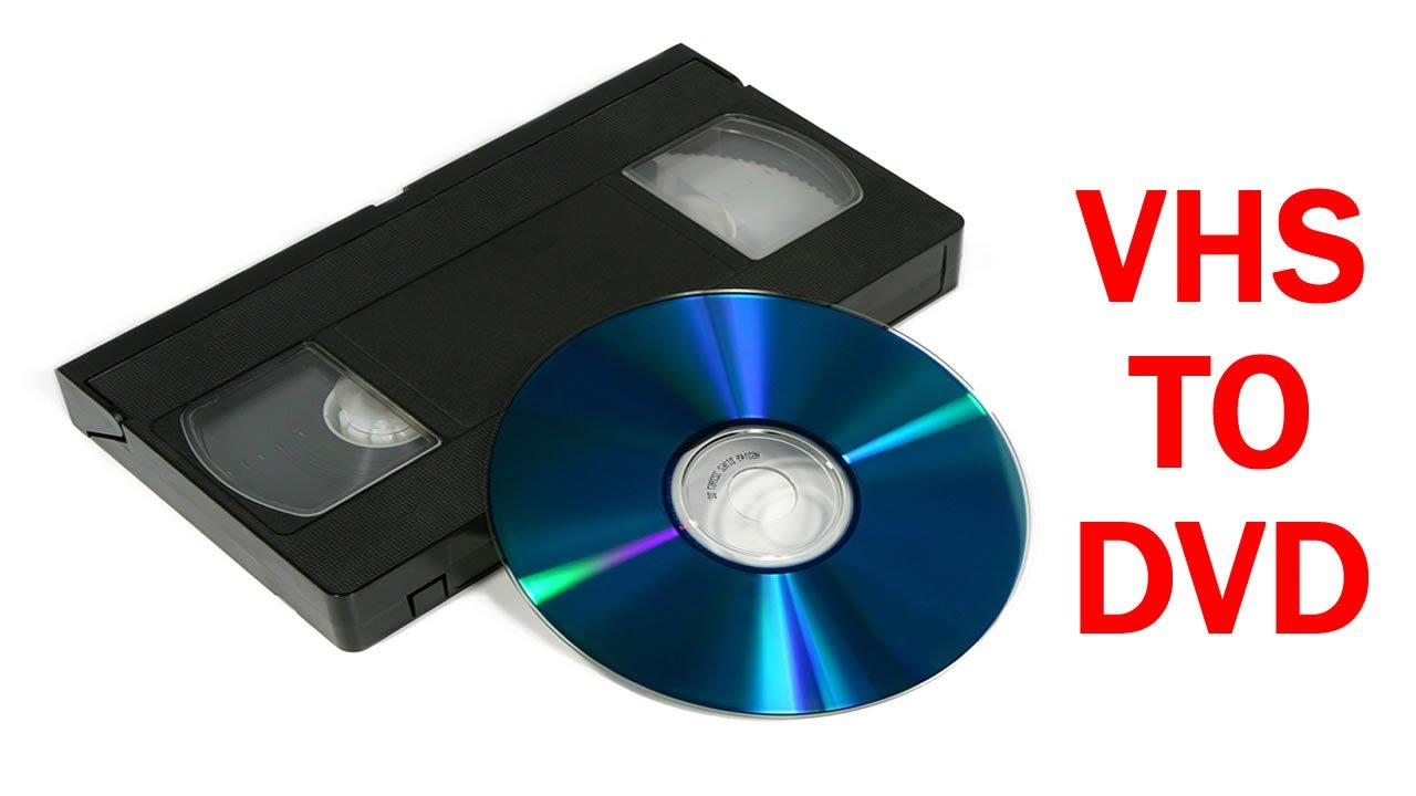 VHS DVD Transfer Services | Maine Video and Videography ...